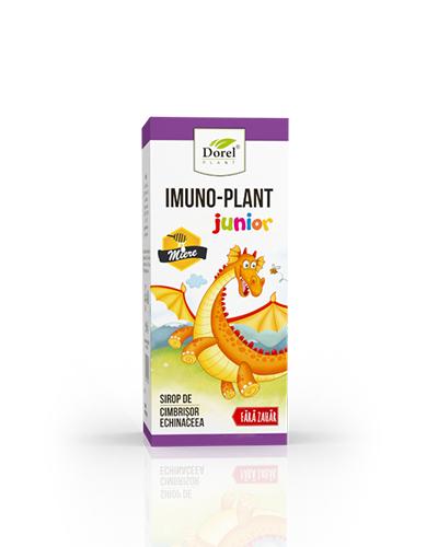 Sirop Imuno Plant Junior cu miere de albine